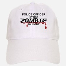 Police Officer Zombie Baseball Baseball Cap