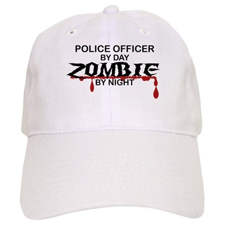 Police Officer Zombie Cap