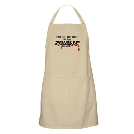 Police Officer Zombie Apron