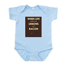 Lemons to Bacon Infant Bodysuit