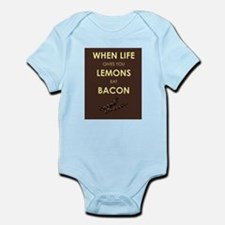 Lemons to Bacon Infant Bodysuit