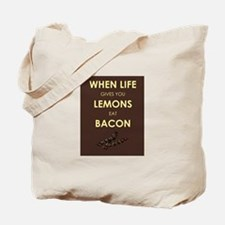 Lemons to Bacon Tote Bag