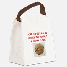 POPE.png Canvas Lunch Bag
