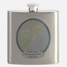 SlowlyHikingATrailShirt.png Flask