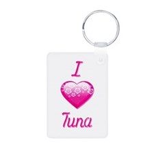 I Love/Heart Tuna Keychains