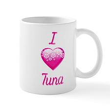 I Love/Heart Tuna Mug