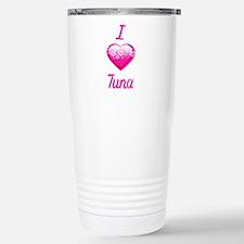 I Love/Heart Tuna Travel Mug