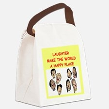 LAUGHTER.png Canvas Lunch Bag