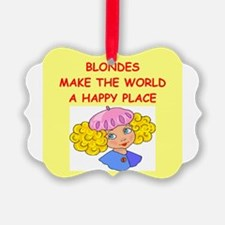 BLONDES.png Ornament