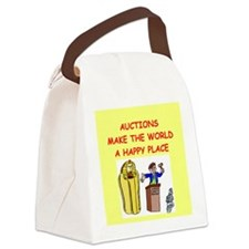 AUCTIONS.png Canvas Lunch Bag