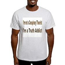 NOT a Consp. Theorist Ash Grey T-Shirt