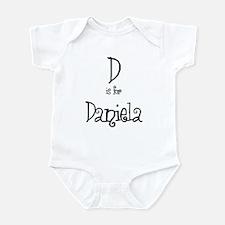 D Is For Daniela Infant Creeper