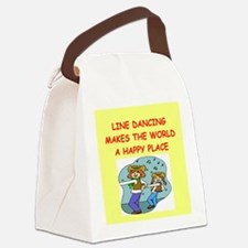 LINE.png Canvas Lunch Bag