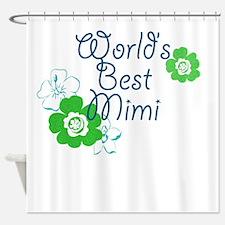 Worlds Best Mimi Shower Curtain