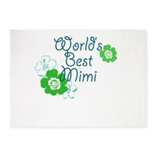 Worlds Best Mimi 5'x7'Area Rug