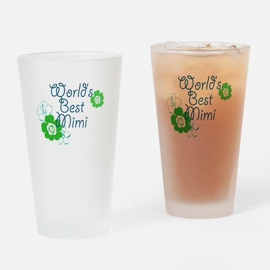 Worlds Best Mimi Drinking Glass