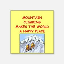 """MOUNTAIN.png Square Sticker 3"""" x 3"""""""