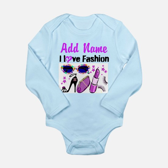 FASHION QUEEN Long Sleeve Infant Bodysuit