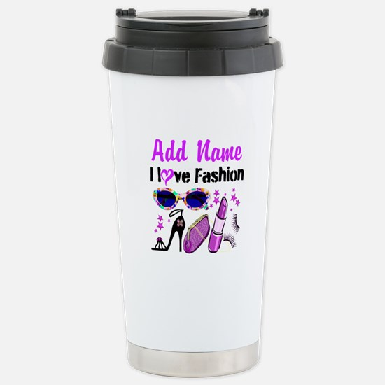 FASHION QUEEN Stainless Steel Travel Mug