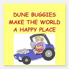 "DUNE.png Square Car Magnet 3"" x 3"""