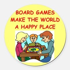 GAMES.png Round Car Magnet