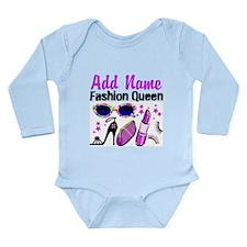 FASHION QUEEN Long Sleeve Infant Bodysuit