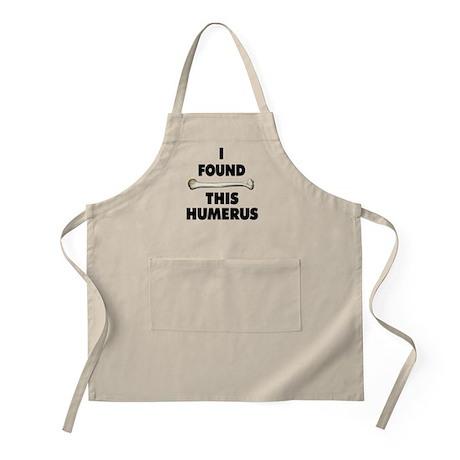 I Found This Humerus Apron