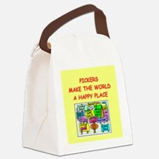 PICKING.png Canvas Lunch Bag