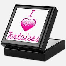 I Love/Heart Tortoises Keepsake Box