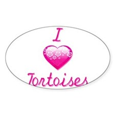 I Love/Heart Tortoises Decal
