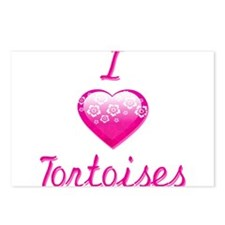 I Love/Heart Tortoises Postcards (Package of 8)