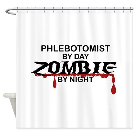 Phlebotomist Zombie Shower Curtain
