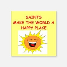 "SAINTS.png Square Sticker 3"" x 3"""