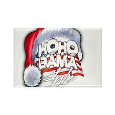 Obama Style Santa Rectangle Magnet