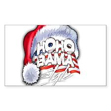 Obama Style Santa Decal