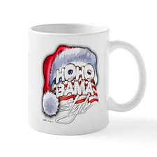 Obama Style Santa Small Mug