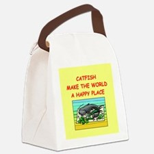 CATFISH.png Canvas Lunch Bag
