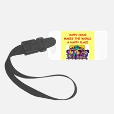 HAPPYHOUR.png Luggage Tag