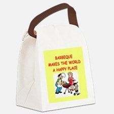 BARBEQUE.png Canvas Lunch Bag