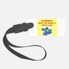 BLUEBERRIES.png Luggage Tag