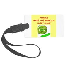 PICKLES.png Luggage Tag