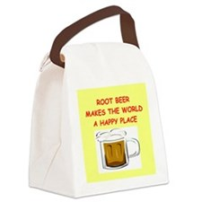 ROOT BEER Canvas Lunch Bag