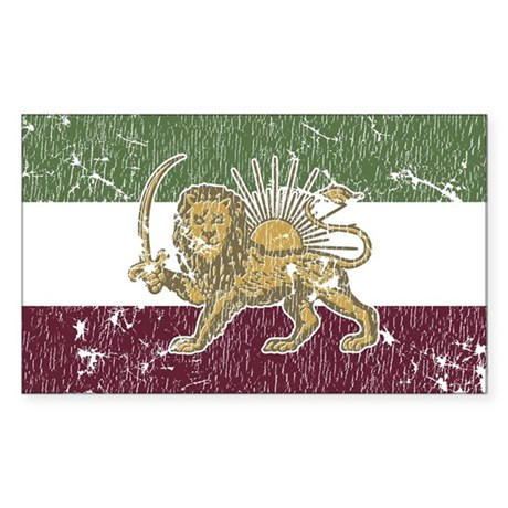 Persian Pride Oval Sticker