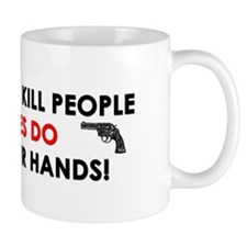 """Guns Don't Kill People, Viruses Do"" Mug"