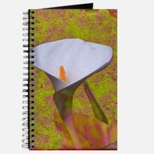 Calla Lily with Pastels Journal