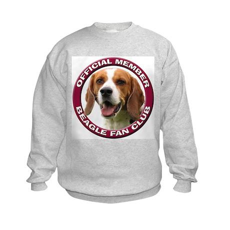 Beagle Fan Club 2 Kids Sweatshirt