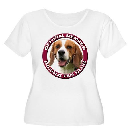 Beagle Fan Club 2 Women's Plus Size Scoop Neck T-S