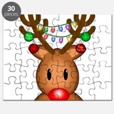 Reindeer with lights Puzzle