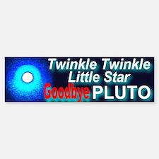 Twinkle Twinkle Little Star G Bumper Bumper Bumper Sticker