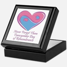 Transgender Day of Remembrance Keepsake Box